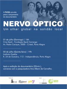 cartaz lançamento Nervo Óptico