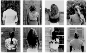 Mulheres de costas